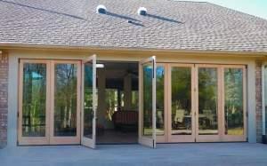 folding patio door installation dallas fort worth texas