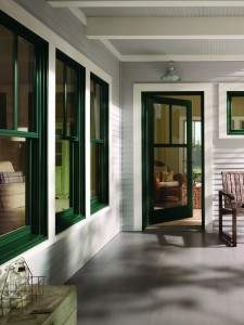 Andersen 300 Series Single Panel Inswing Doors with Fractional SDLS - Patio