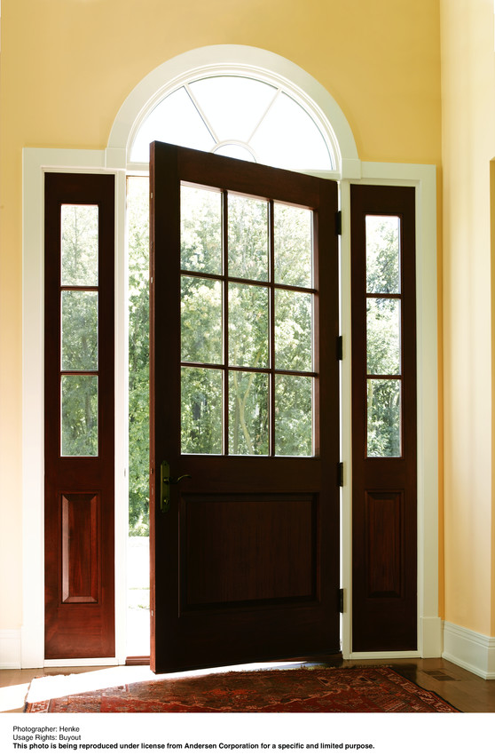 Andersen Entry Door with Sidelites - Entrance