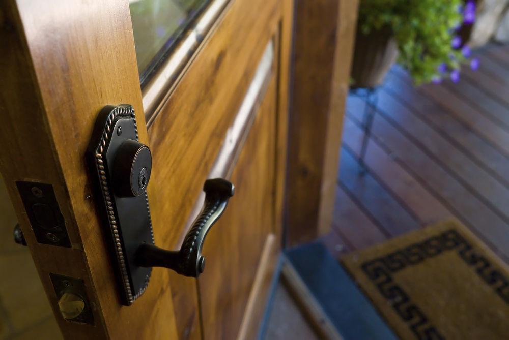 Smooth Fiberglass Entrance Door - Entrance