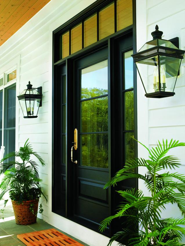 Traditional Andersen Black Entrance Door  - Entrance