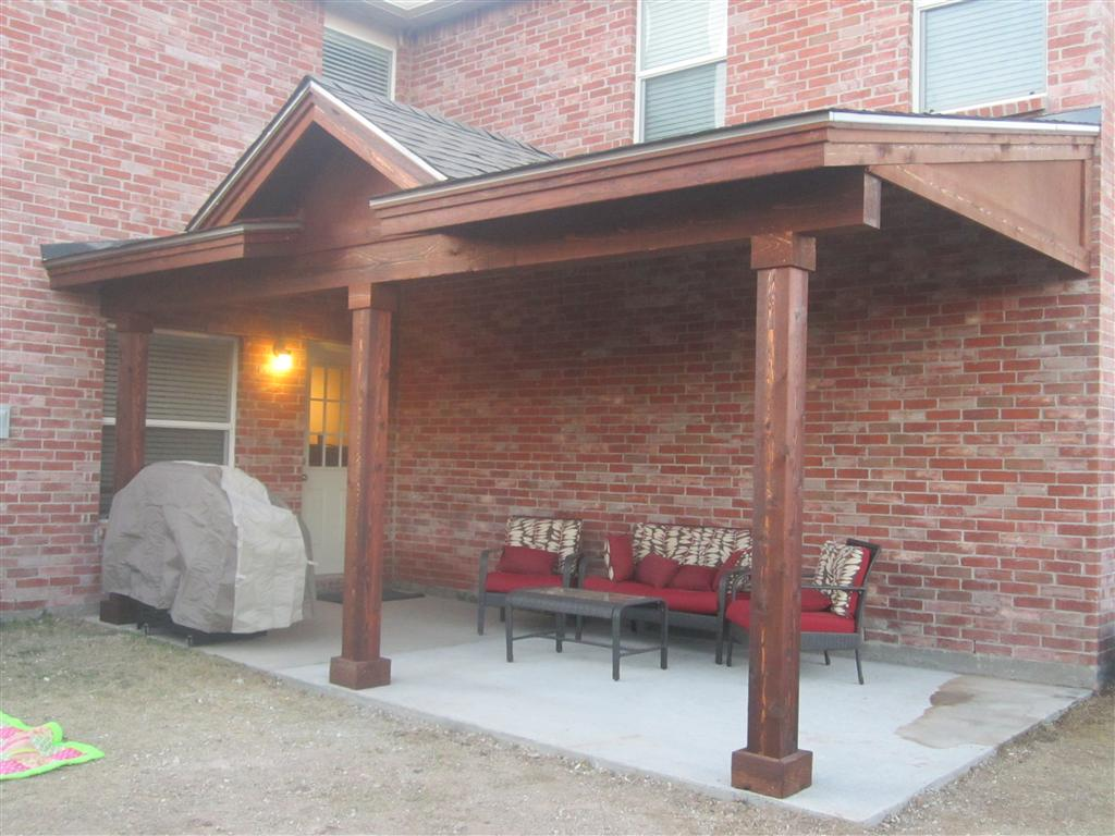 20 Foot by 6 Foot Cedar Patio Cover - Patio Covers