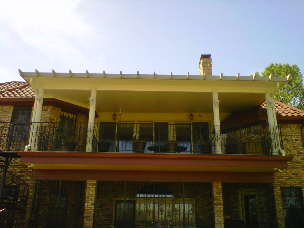 2nd Story Aluminum Patio Cover - Patio Covers