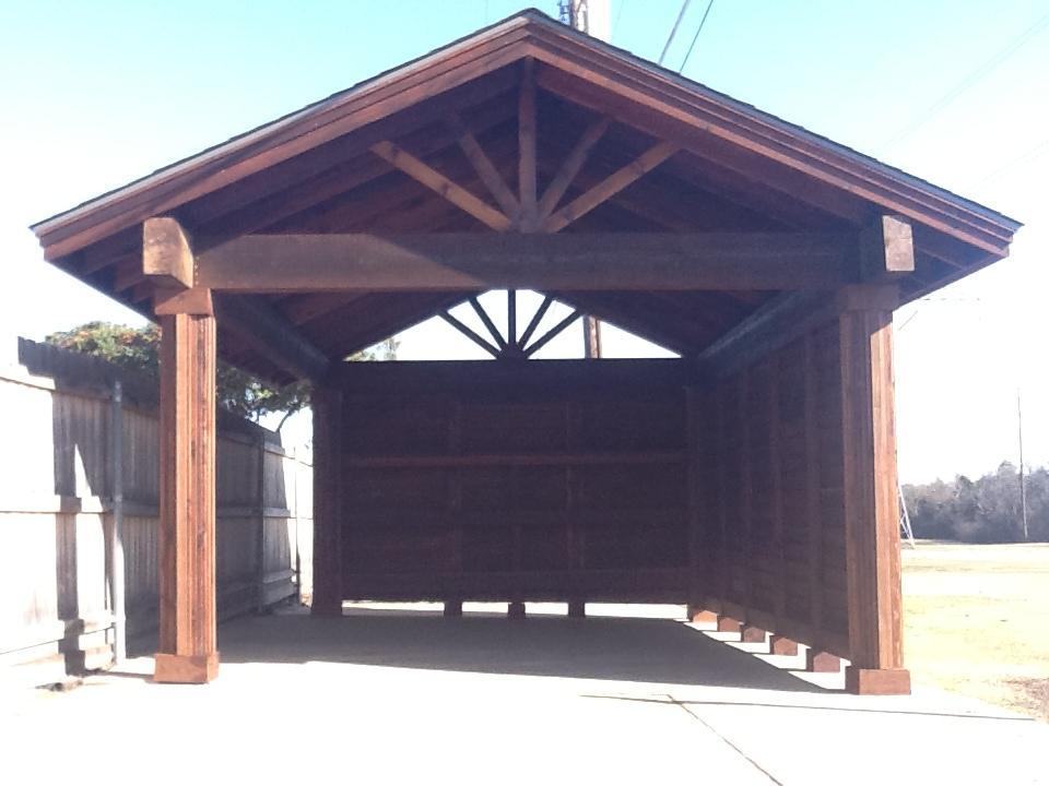 Cedar RV Carport - Patio Covers
