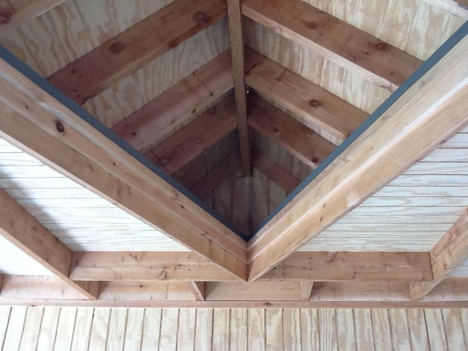 Custom Woodwork for Cedar Patio Cover - Patio Covers