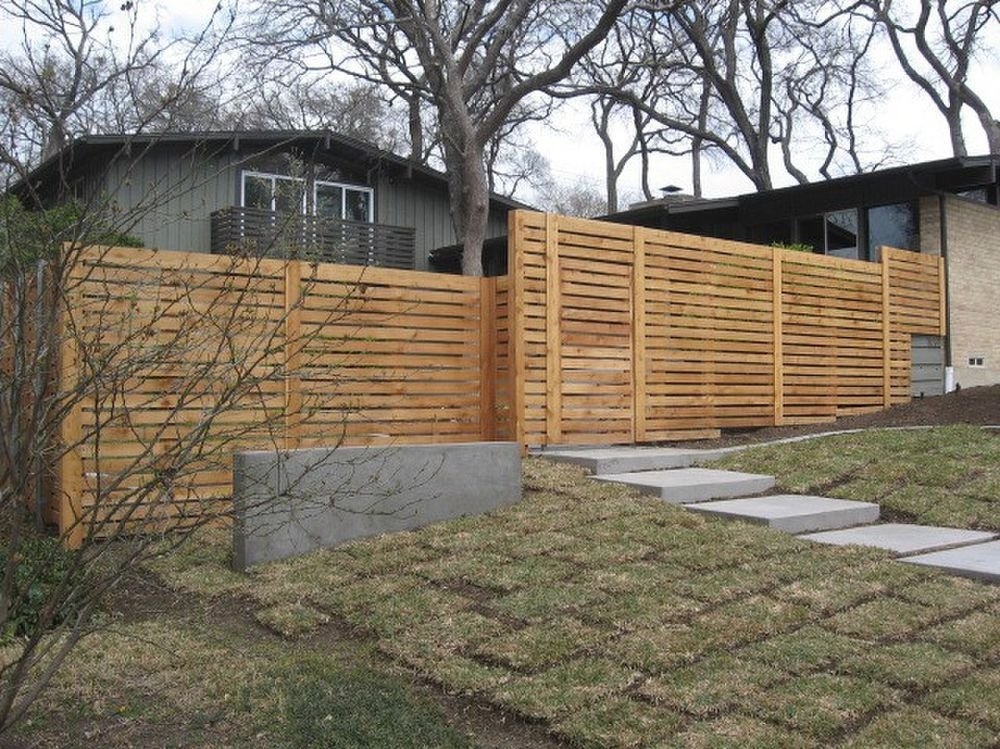Modern Clear Pine Fencing - Fencing