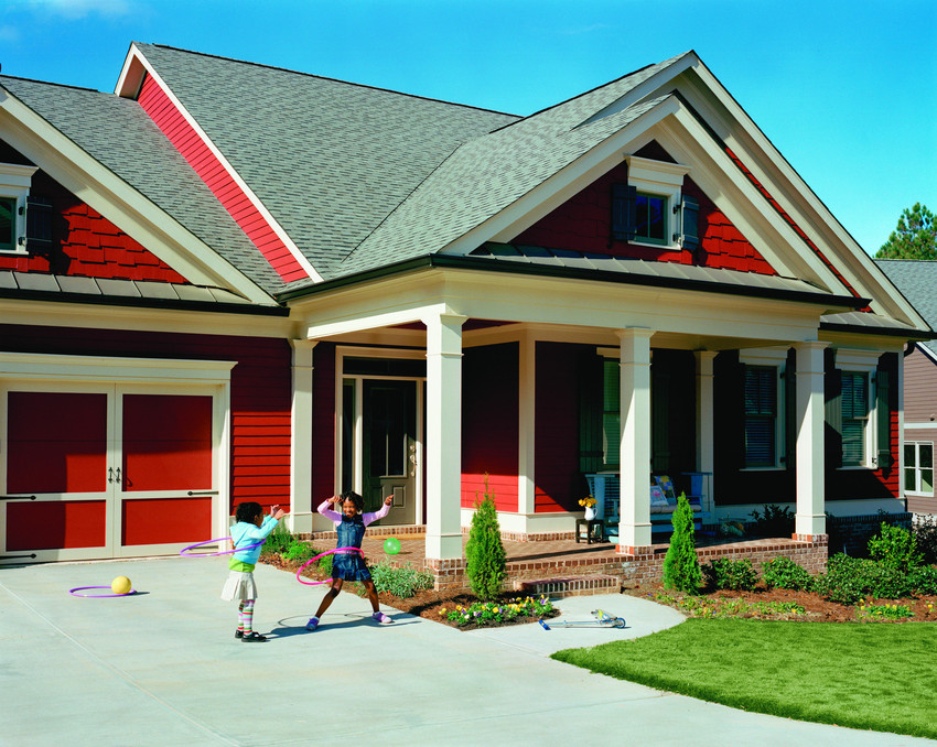 James Hardie Country Red Fiber Cement Siding - Fiber Cement