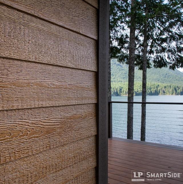 LP Smartside Engineered Woodgrain Siding - Engineered