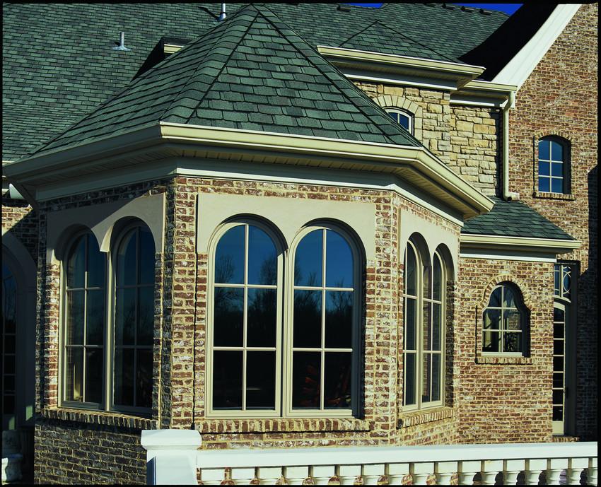 Andersen A Series Arch Top Casement Windows with SDL Grids - Casement