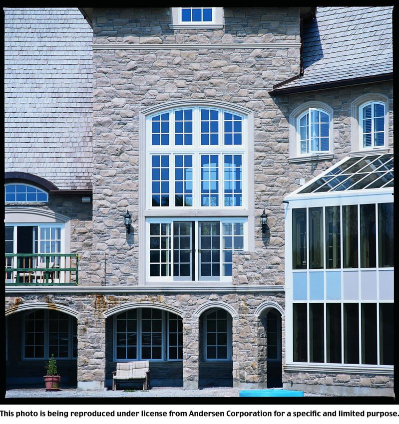 Architectural Round Top - Decorative
