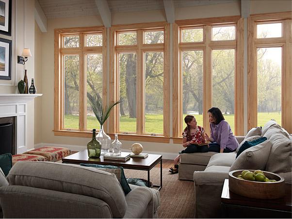 Milgard Essence Fiberglass and Wood Casement Windows - Fiberglass