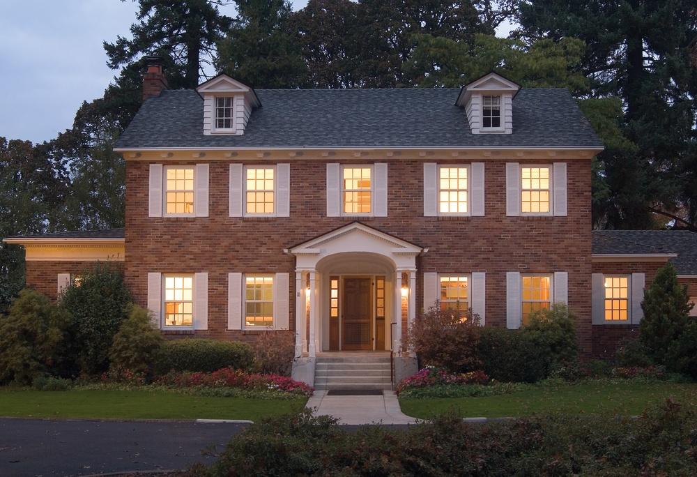 Milgard Ultra Woodclad White Fiberglass Colonial Style Windows - Fiberglass