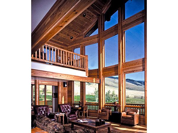 Milgard Woodclad Clearstory Windows - Wood