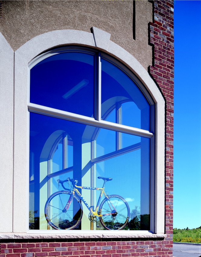 Oversized Andersen A Series Storefront Windows - Picture
