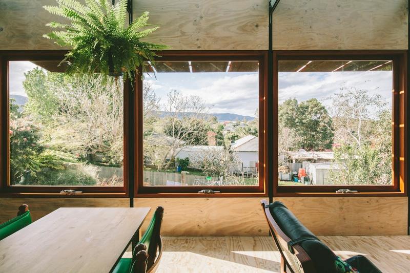 Oversized Wood Casement Windows - Wood