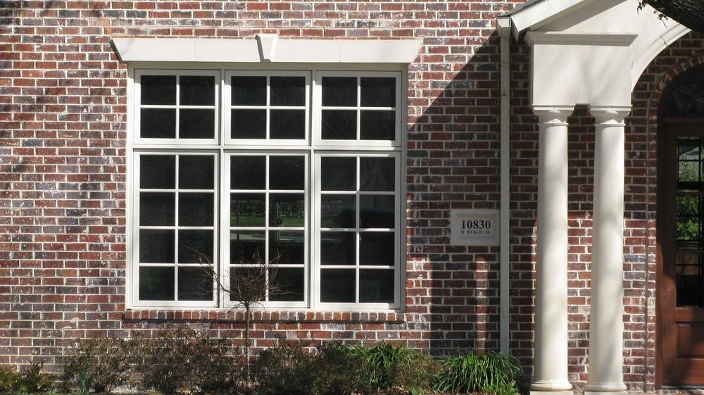 Triple Casement and Transom Vinyl Window  - Vinyl
